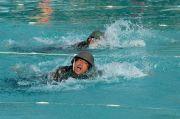 Petarung Brigif 2 Marinir Berlaga di Lomba Renang Militer