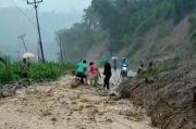 Longsor di Mana-mana, Akses Jalan di Bolsel-Bolmong Sulit Dilewati