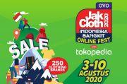 Jakcloth dan Tokopedia Usung Indonesia Bangkit, 250 Brand Clothing Unjuk Gigi