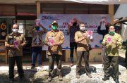 Perhutani KPH Surakarta Bagikan APD Bagi Tenaga Kerja Non Karyawan