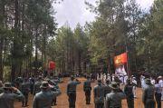 Perhutani KPH Kedu Selatan Waspadai Kebakaran Hutan