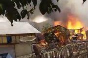 Puluhan Rumah Warga dan Harta Benda di Dalamnya Ludes Terbakar di Bima