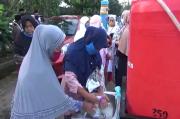 Salat Idul Adha Saat Pandemi, Warga Tanggamus Tertib Cuci Tangan