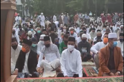 Gelar Salat Idul Adha, Ribuan Warga Pangkalpinang Padati ATM