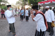 Sembuh COVID-19, Wakil Wali Kota Solo Salat Idul Adha di Masjid Balaikota
