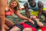 Selamatkan Nyawa Pria Tertabrak Perahu, Dokter Berbikini Ini Viral