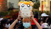 Kartun Hamster Jepang Jadi Simbol Protes Pemuda Thailand