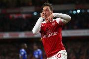 Dicoret dari Skuat Arsenal di Final Piala FA, Oezil Pelesir ke Turki