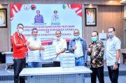 DPD PDIP Sumut Sumbang 1.000 Alat Rapid Test Kepada Pemkab Batubara
