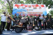 Bantu Ekonomi Masyarakat, TNI-Polri Jaga Ketahanan Pangan dari Pinggir Sungai Cisadane