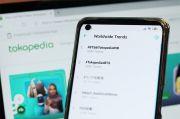 Kolaborasi Tokopedia dan BTS dalam WIB Tembus Trending Dunia