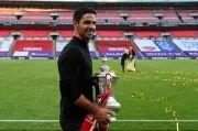 Raih Trofi Pertama Sebagai Pelatih, Arteta Terima Kasih ke Guardiola