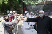 Pembagian Daging Kurban di Masjid Jami Silalas Medan Pakai Sistem Barcode