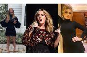 Adele Sukses Turunkan Berat Badan, Seperti Ini Metode Dietnya