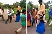 Dituduh Selingkuh, Wanita India Dihukum Panggul Suami di Jalanan