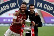 Mikel Arteta Harap Aubameyang Perpanjang Kontrak di Arsenal