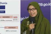 Kasus Kematian karena Corona di Indonesia Posisi 103 Dunia dari 215 Negara