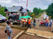 Bangun Rumah Sederhana, BPBD Salurkan Bantuan di 3 Desa
