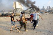 Dahsyatnya Ledakan Beirut, Kapal PBB Rusak dan Sejumlah Pasukan Perdamaian Terluka