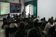 Tim Kumdam IV/Diponegoro Gembleng Penyuluhan Hukum pada Anggota Pendam