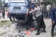 Massa Mengamuk Mobil BNN Dirusak saat Penggerebekan Narkoba