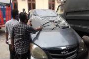 Polisi Buru Massa Perusak Mobil BNN Deliserdang
