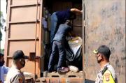 KSKP Bakauheni Bongkar Penyelundupan 1,1 Ton Daging Celeng
