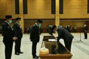 Lantik Pejabat Baru, Mentan SYL: Tidak Boleh Korupsi dan Harus Melayani