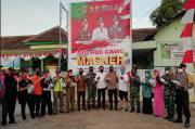 Jatim Bermasker, Forpimda Madiun Bagikan Ribuan Masker Cegah COVID-19