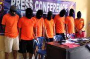 Curi Besi Proyek Pembangunan Jalan, 7 Pekerja Diciduk Polisi