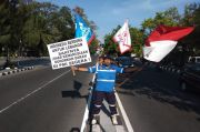 Kopral Purnawirawan Subagyo Gelar Aksi Simpati untuk Beirut