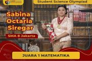 Sabina Octaria Siregar, Siswa SMAN 8 Jakarta Juara Matematika SSO 2020