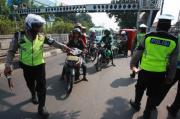 Pelanggar Lalu-lintas Operasi Patuh Polresta Mataram Turun Drastis