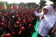 Survey SMRC: Tingkat PHK Jatim Terendah Se-Pulau Jawa, Ini Kata Khofifah