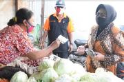 Dampak Corona, Omzet Pedagang Pasar Tradisional di Sleman Turun 30%