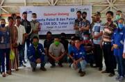 PT SOL Wujudkan LPJU Terangi Desa dan Peduli Pendidikan