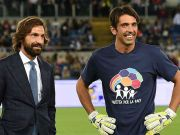 Kelakar Buffon Usai Pirlo Ditunjuk Jadi Pelatih Juventus