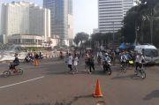 Kawasan Bundaran Hotel Indonesia Tempat Favorit Warga Olahraga