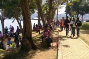 Liburan Masa AKB COVID-19, Wisata Waduk Darma Kuningan Ramai Dikunjungi Wisatawan