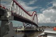 Pembangunan Jembatan Musi 6 Palembang Capai 87 Persen