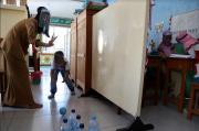 SLB Widya Tama Surabaya Lakukan Pembelajaran Tatap Muka