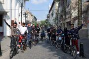Gowes di Semarang, Artis hingga Politisi Terpesona Kota Lama