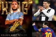 Ciro Immobile si Raja Penalti yang Akhiri Dominasi Ronaldo-Messi