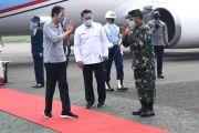 Jokowi Tinjau Fasilitas Produksi dan Pelaksanaan Uji Klinis Vaksin Covid-19