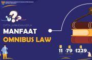 Omnibus Law Ciptaker Buka Pintu Masuk Investasi, Biaya dan Waktu Lebih Efisien