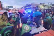 Driver Ojek Online Tewas Terlindas Truk Tangki di Medan
