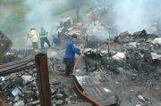 Si Jago Merah Mengamuk, 2 Gudang Limbah dan 1 Rumah Hangus Terbakar