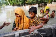 Banjir Terjang Sepertiga Wilayah Bangladesh, 1,5 Juta Warga Mengungsi