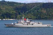 Kapal Perang Turki dan Yunani Tabrakan Mini di Laut Mediterania