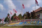Gedung Linggarjati Kuningan Dikepung 10.001 Bendera Merah Putih